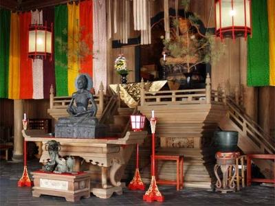 建長寺法堂内仏像