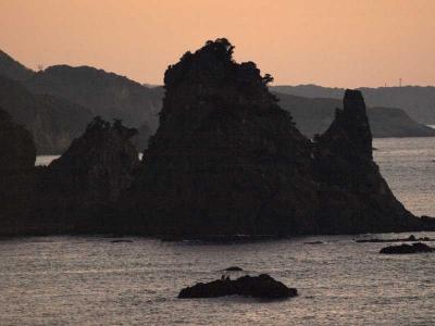 石廊崎の岩礁