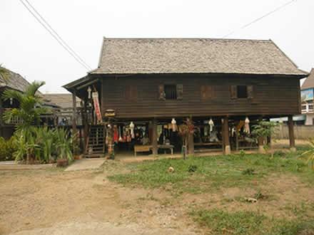 タイ北部のタイ・ルー族の村