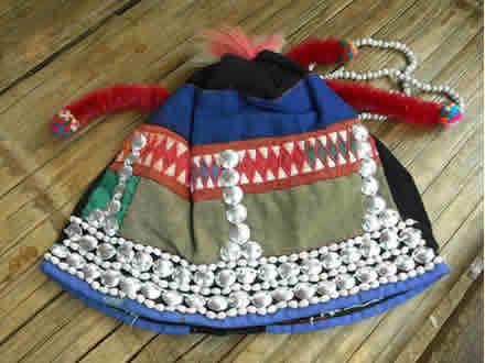 アカ族の帽子