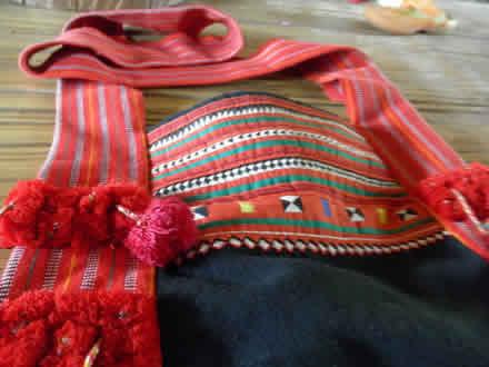 ラフ族のバッグ