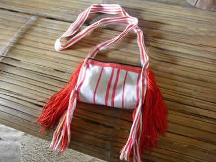リス族のバッグ