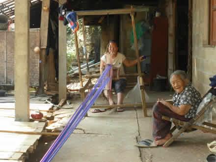 タイ北部のラフ族の村