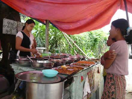 ミャンマー(ビルマ)のタナカ