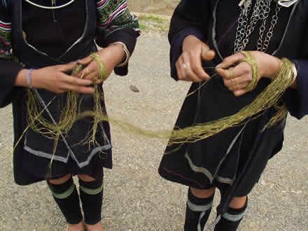 黒モン族の麻