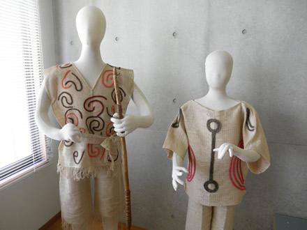 弥生時代の衣装