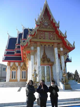 マレットファンとワットパクナム寺院へ