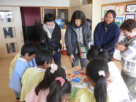 マレットファン水海道幼稚園へ