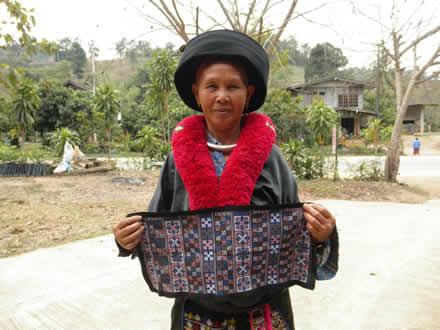 ミェン族の刺繍