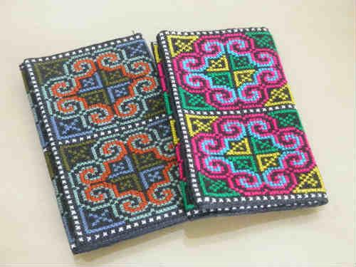 織り人のカードケースできあがりました!