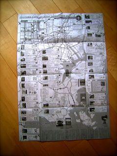 カフェアートブック案内マップ