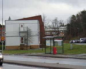グスタフスベリのバス停
