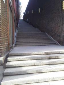 ストックホルムの階段