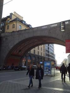 ストックホルムの石の橋