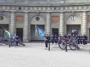 スウェーデン衛兵交代式