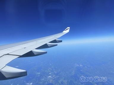 フィンランド航空 空の上