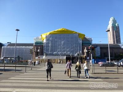 フィンランド 中央駅 正面