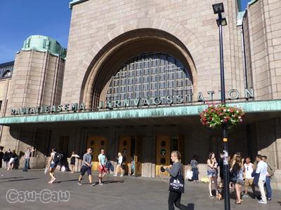 フィンランド 中央駅 左側