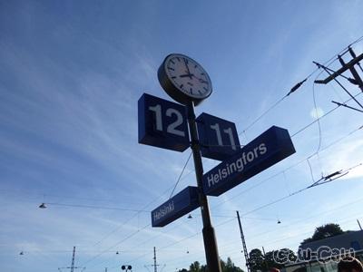 ヘルシンキ中央駅 12番ホーム