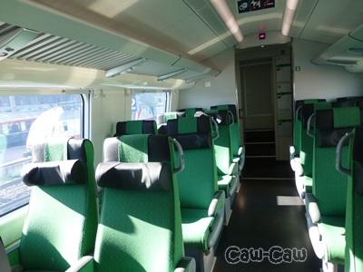 フィンランド鉄道 VRインターシティ内部