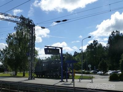 フィンランド鉄道 VRインターシティ 駅