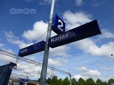 フィンランド カーリア(karjaa)駅
