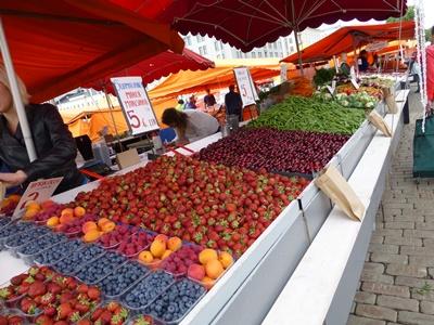 ヘルシンキ マーケット 果物