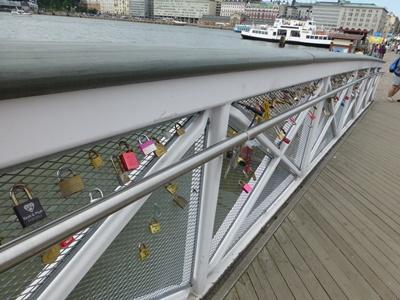 ヘルシンキ 橋の鍵