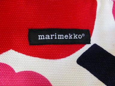 marimekkoショルダーバック新ロゴ