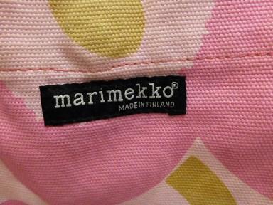 marimekkoショルダーバック旧ロゴ