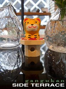 日本郷土玩具館サイドテラスに干支飾り入荷しました