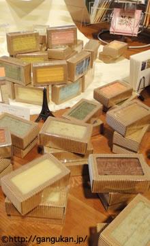 日本郷土玩具館ブランミュールの石鹸