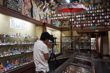 日本郷土玩具館全天球パノラマ撮影
