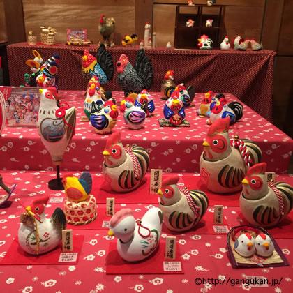 干支【酉】日本郷土玩具館