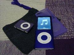 iPod shuffleとiPod nano