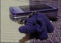 紫色のゾウ