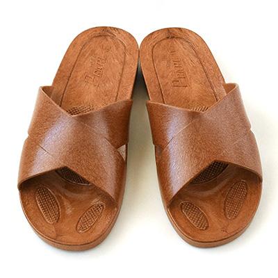ギョサン クロスバンド型 フリーサイズ(25.5cm) Brown