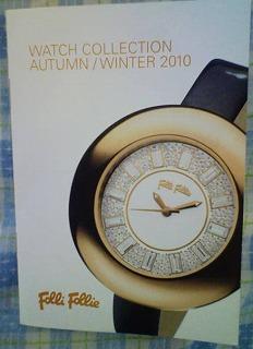 フォリフォリ(Folli Follie) 腕時計カタログ WATCH COLLECTION AUTUMN/WINTER2010