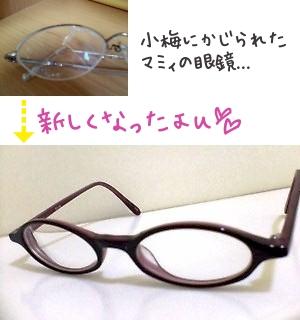 あったらしい眼鏡。