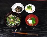 27日ゆずみ豆腐