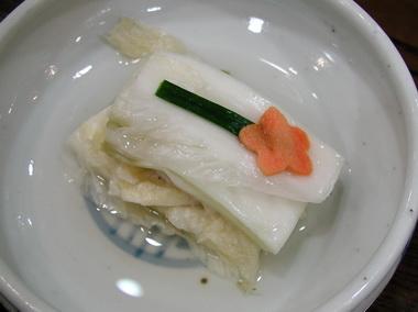 古)白菜の酢漬け