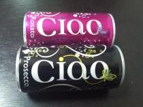 ciao 缶ワイン 微発泡