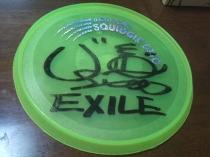 EXILE フライングディスク ソーサー