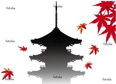紅葉 京都 秋 寺