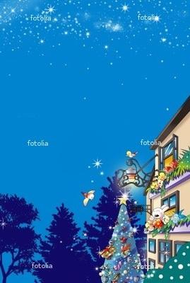 星空のクリスマス