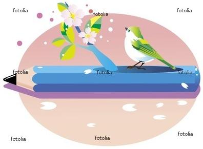 桜 鉛筆 新学期 入学式