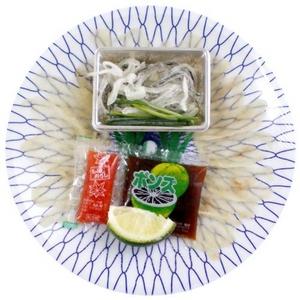 薩摩とらふぐ刺身5皿セット