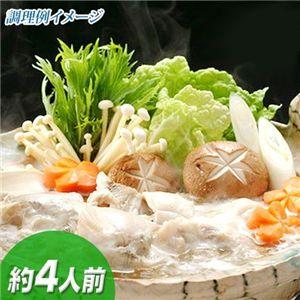 【鹿児島産】薩摩とらふぐのコラーゲン鍋セット約4人前
