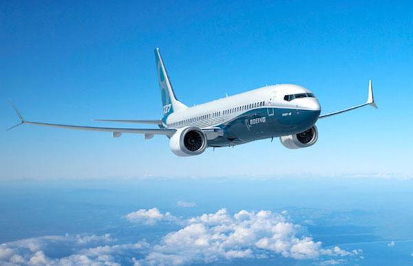 737 MAX 8のイメージイラスト(ボーイング提供)