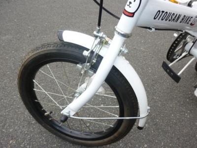 お父さん自転車